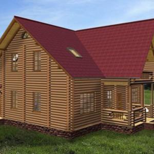 дом двухэтажый с балконом игорь