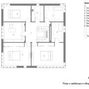 Ковчег-дом-план 2 этажа