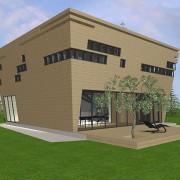 Ковчег-дом двухэтажный