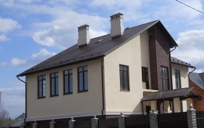 Дизайн дома из газобетона