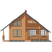 дом двухэтажный незабудка