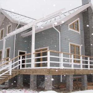 дом двухэтажный с цоколем новелла