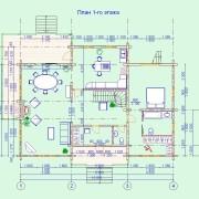 дом новела - 1 этаж