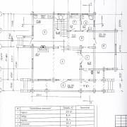 дом василиса - план 1 этажа