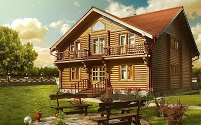Красота деревянного дома