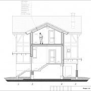 Дом с мансардой «Европейский» - разрез3