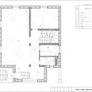 Дом  «Европейский» - план 1 этажа