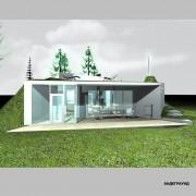 Дом андеграунд - фасад