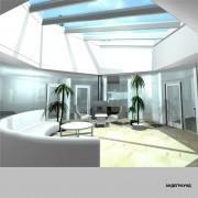 Дом андеграунд - интерьер2