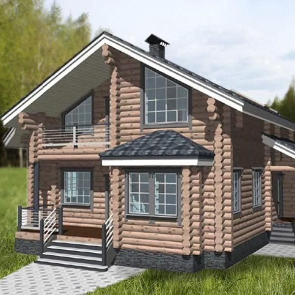 дом с мансардой бьюти