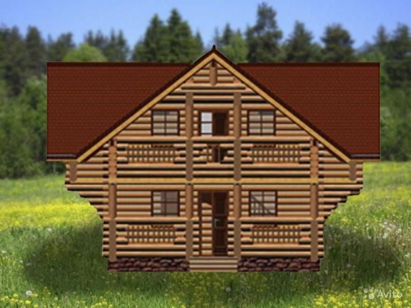 Дом двухэтажный с балконом Воевода
