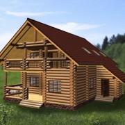 дом с мансардой и балконом залима