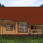 дом с мансардой и со вторым светом - фасад