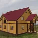 дом одноэтажный альбина
