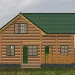 дом-баня владимир - фасад