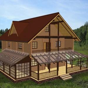 дом двухэтажный лариса