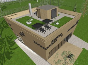 Ковчег дом двухэтажный вид-2