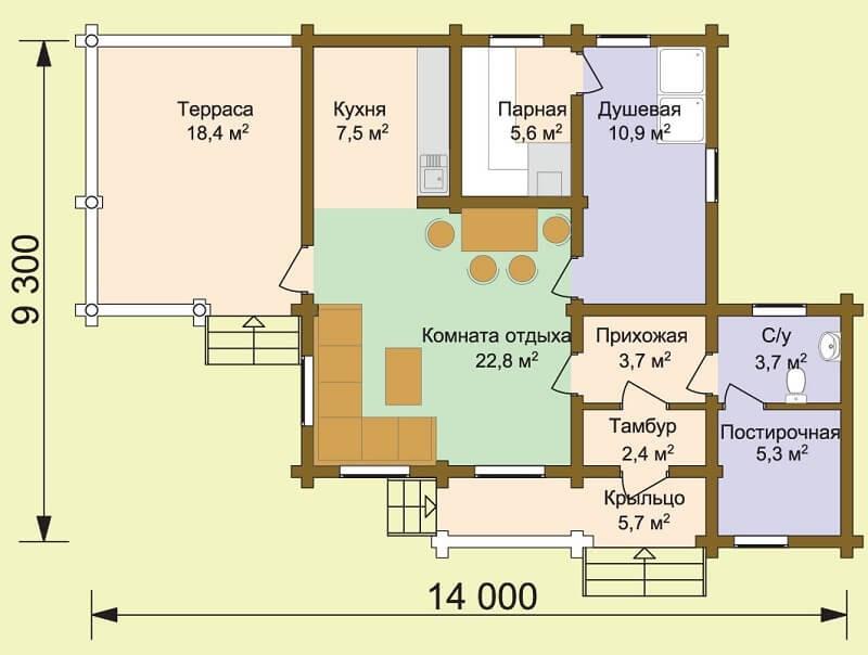 Баня «Кузьма» (проект)