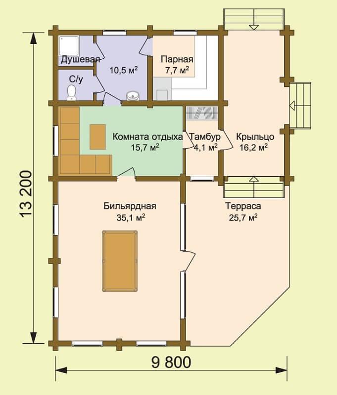 Баня «Сайгон 2»Баня «Сайгон 2» (проект)