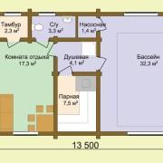Проект бани Свежесть-2