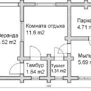Баня «Валерий» (проект)