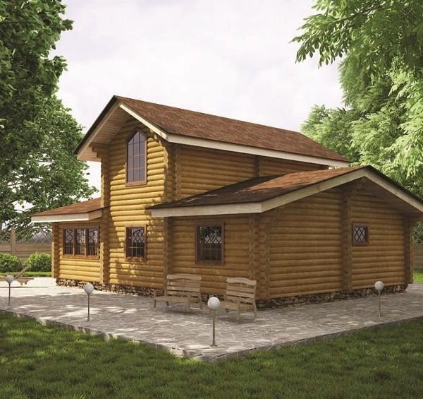 Дом-баня «Видное»