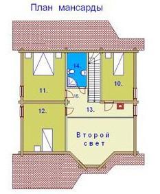 дом василий - 2 этаж
