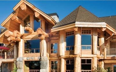 Красота дома из сруба