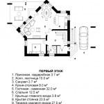 1 этаж -дом эйфория
