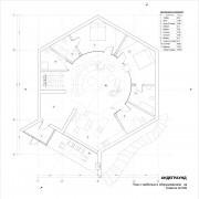 Дом андеграунд - план 2 этажа
