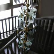 Дом двухэтажный фото лестница
